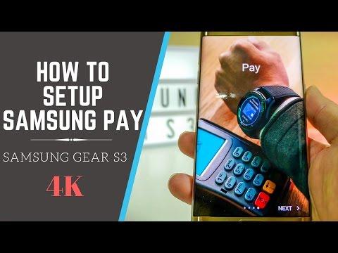 Samsung Pay Setup For Samsung Gear S3