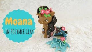 Making Moana as a Unicorn Mermaid In Polymer Clay