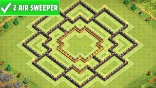 "Clash Of Clans | ""NEW"" EPIC TOWN HALL 9 (TH9) TROPHY BASE 