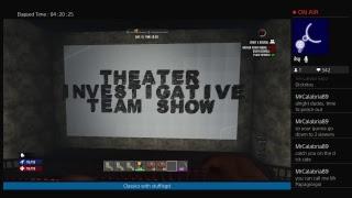 stuffisgd's Live PS4 Broadcast Theater Investigative Team Show Live