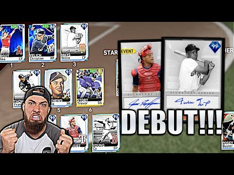 99 WILLIE MAYS 99 PUDGE RODRIGUEZ RANKED DEBUT MLB THE SHOW 19!