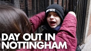 OUR FIRST TRIP BACK TO NOTTINGHAM | AUTISM FAMILY VLOG