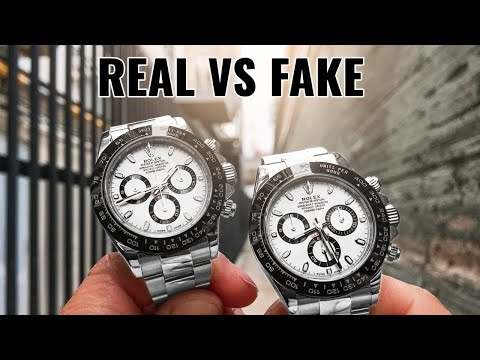 5 Ways to Spot a Fake Rolex - This Replica is Scary Real! 😱