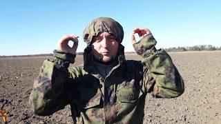 "Обзор маскхалата финского разведчика ""Костюм парашютист"" М-05 Woodland (Вудланд)"