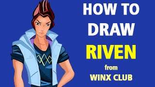 How to Draw Riven from Winx Club [Speed Painting]