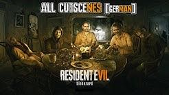 Resident Evil 7: Biohazard All Cutscenes [German]