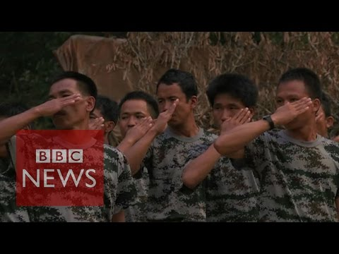 Myanmar: Inside a rebel camp - BBC News