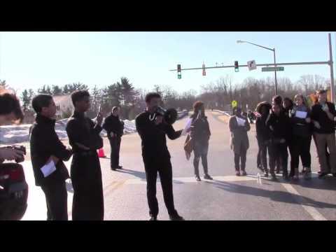 Mount Hebron High School Protest
