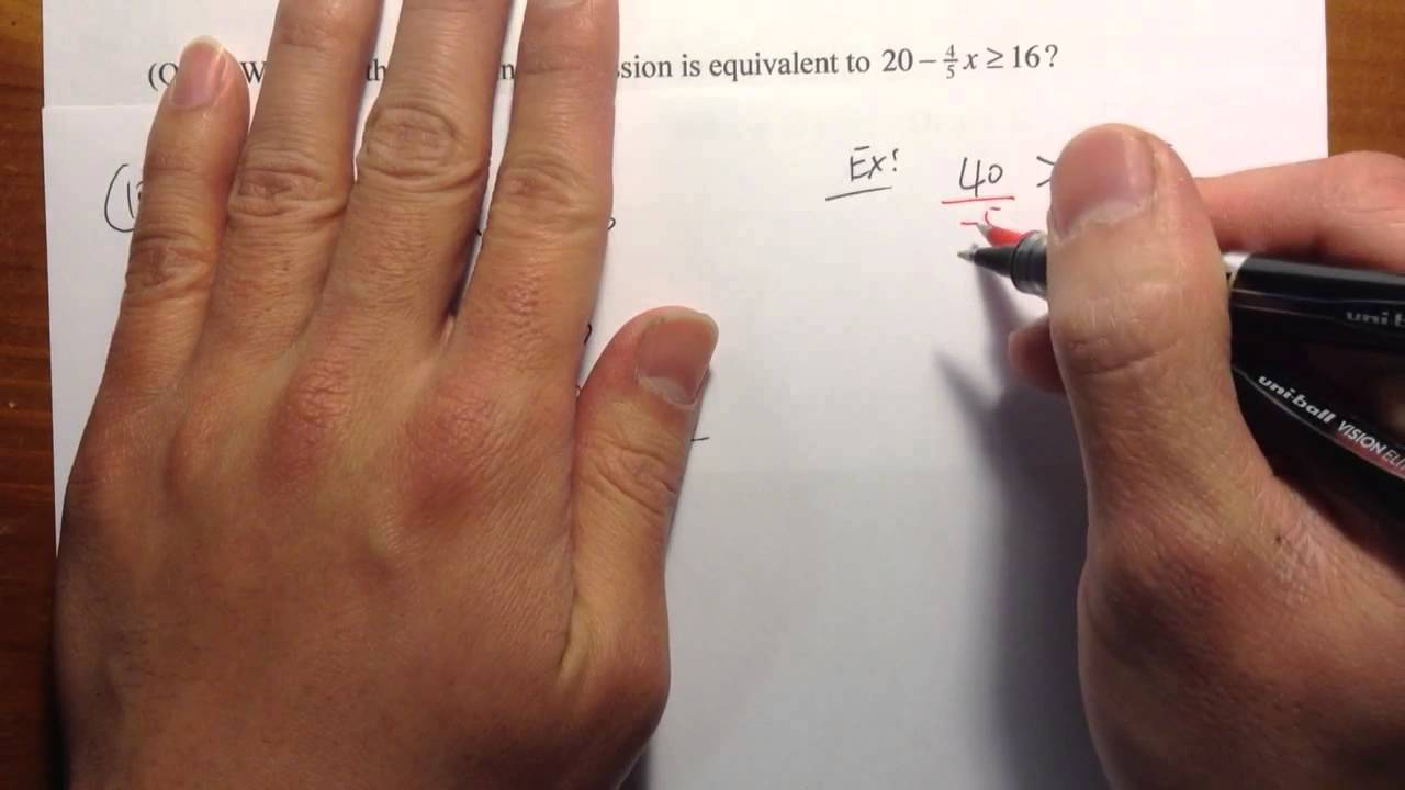 ACCUPLACER] (Q10.) Elementary Algebra Official Practice Problems ...
