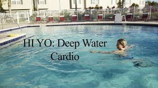 Deep Water Cardio Workout HI YO INTERVAL#1 - WECOACH