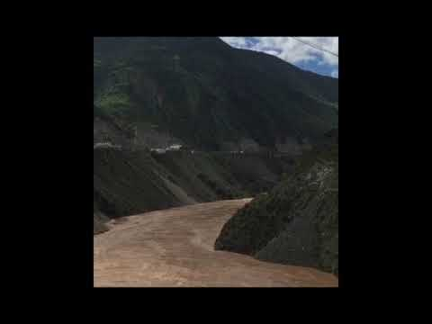 China I The Yangtze I third-longest river I World I 6,380 km