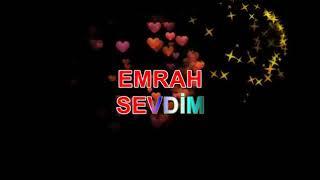 Emrah sevdim karaoke