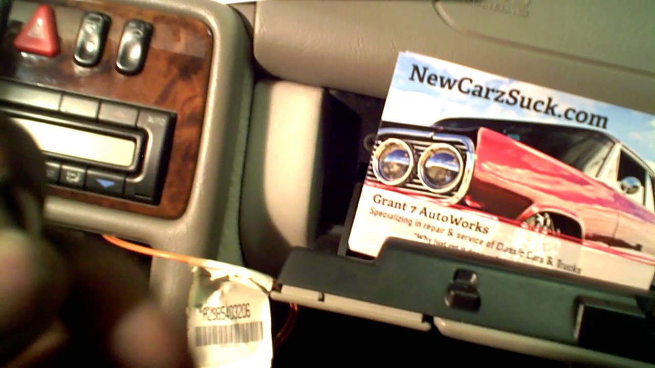 How To Install An Aftermarket Radio Into Mercedes Benz Bose System 1980 Fiat Spider Wiring Diagram Grant 7 Autoworks Newcarzsuckcom Youtube