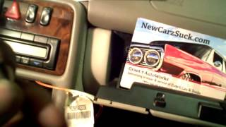 Video Grant 7 AutoWorks How to install an aftermarket radio into Mercedes Benz BOSE system NewCarzSuck.com download MP3, 3GP, MP4, WEBM, AVI, FLV November 2017