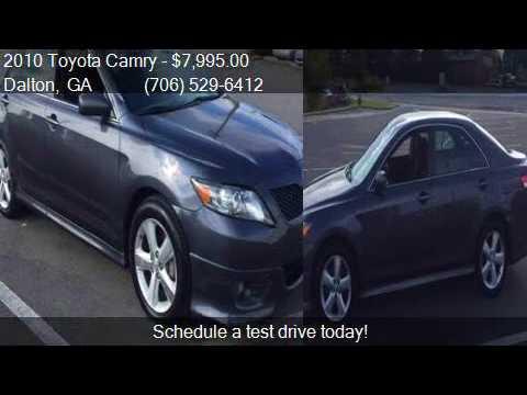 Paniagua Auto Sales >> 2010 Toyota Camry SE 4dr Sedan 6A for sale in Dalton, GA 307 - YouTube