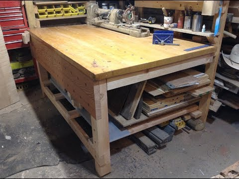 Woodworking : DIY Workbench Build