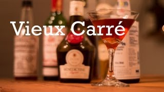 Vieux Carré Cocktail From Better Cocktails At Home