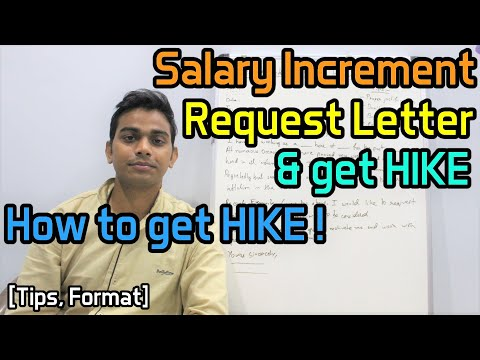 Write Salary Increment Request Letter & Get HIKE | How To Get HIKE | [Tips, Format]