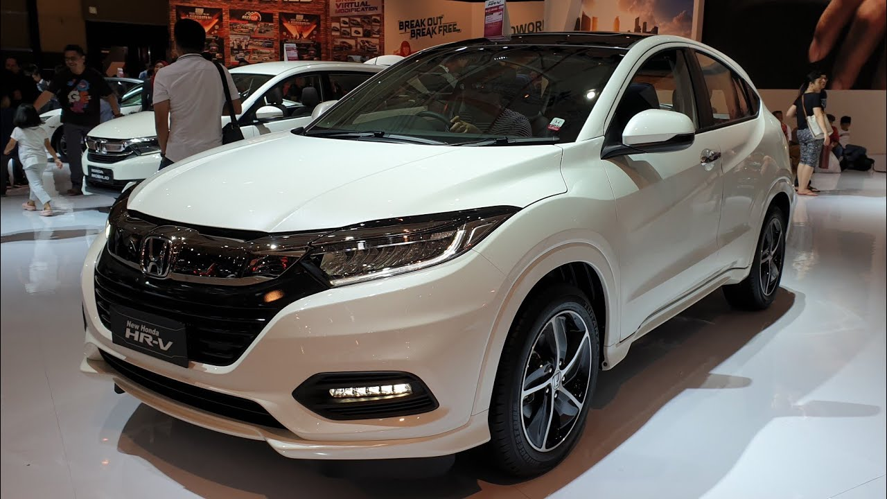 honda hr-v facelift 1 8 prestige cvt 2019  ru5  in depth review indonesia  iims2019