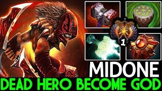 Midone [Bloodseeker] WTF Dead Hero Become God Meta 7.21 Dota 2