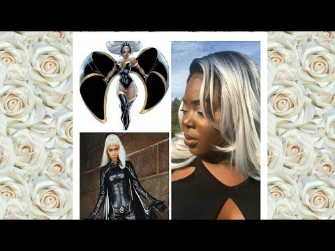 Storm from X-Men: Costume on a budget, last minute Halloween look
