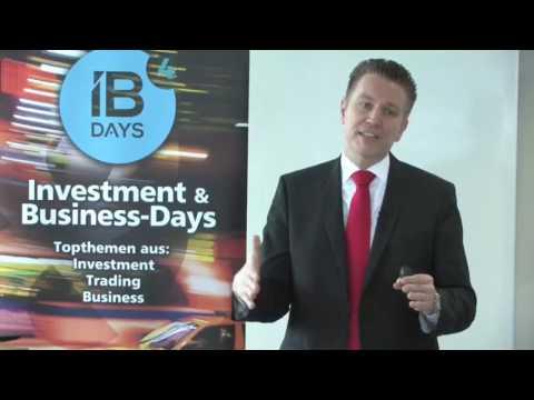 FX, Indizes, Öl und Gold – wo liegen die Top Trades 2017  IB Days 2017