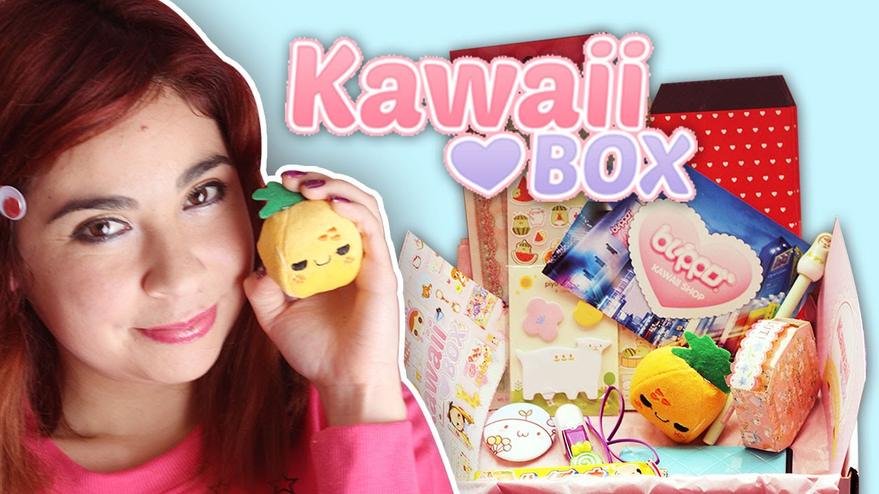 KAWAII BOX , Unboxing