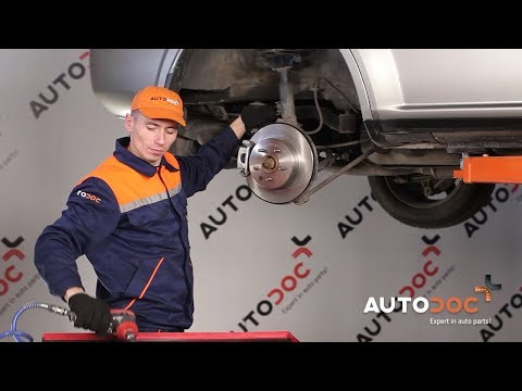 How to replace rear anti roll bar link NISSAN X-TRAIL T30 TUTORIAL | AUTODOC