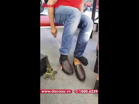Giày Da Pierre Cardin Nam Black Loafer PCMFWLC 083 – Dacasa