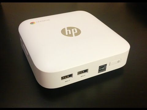 HP Chromebox Setup and Review