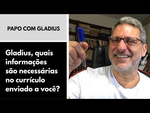 117/19 - Gladius, quais informações são necessárias no currículo enviado a você?