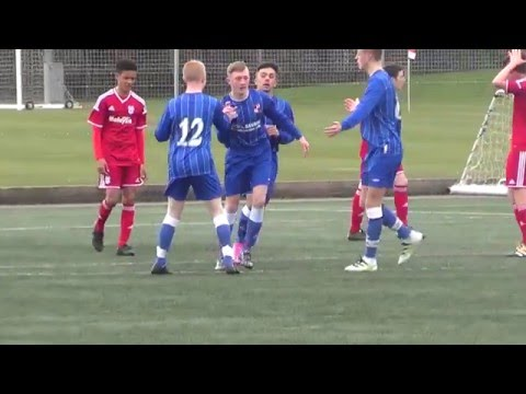 SBYFL v Cardiff City Academy - Under 15s - 1st April 2016