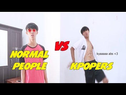 NORMAL VS KPOPERS || KOMPILASI VIDEO INSTAGRAM @agorivalll