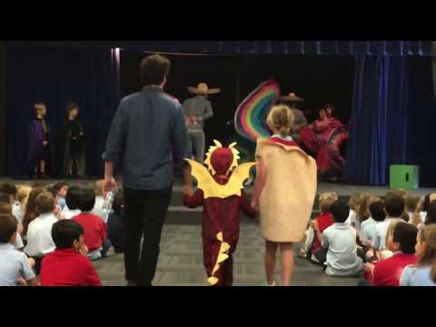 Almaden Country Day School Welcomes Author Adam Rubin of Dragons Love Tacos