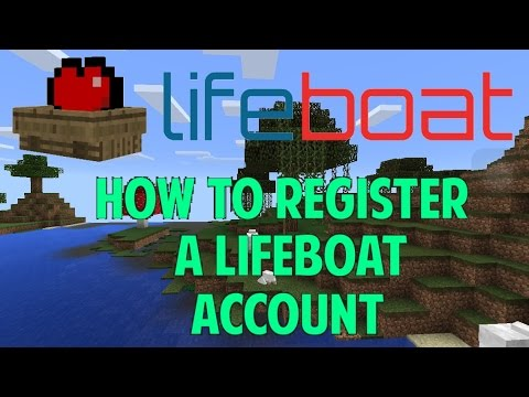 how to get a lifeboat account