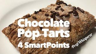 Chocolate Pop Tarts - 4 WW SmartPoints- Weight Watchers