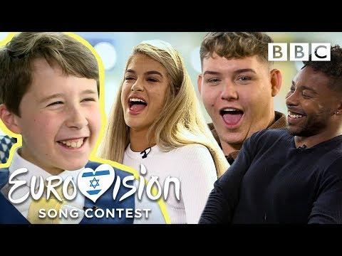 Eurovision super-fan Joel