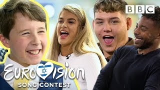 Eurovision super-fan Joel interviews the 2019 acts - BBC