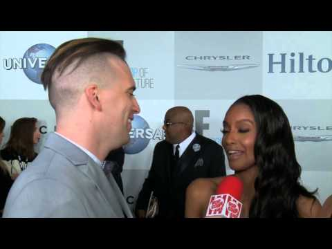 Azie Tesfai  The Golden Globes NBC After Party  Popcorn Talk