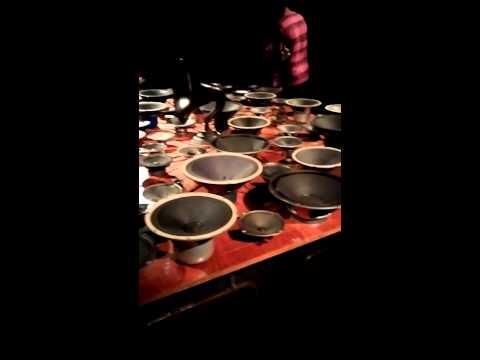 Korea Leeum museum exhibition, sound art.