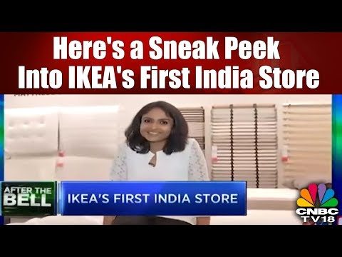 Here's a Sneak Peek Into IKEA's First India Store in Hyderabad | CNBC TV18