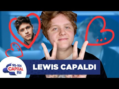 Lewis Capaldi Gushes Over Bromance With Niall Horan 👨❤️👨 | FULL INTERVIEW