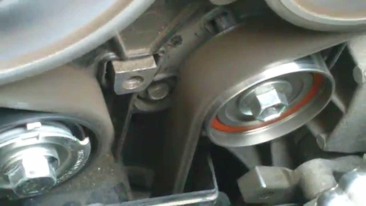 Двигатель 21127, ГРМ после замены ролика на Koyo
