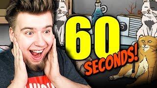 NOWE ZAKOŃCZENIE! KOCIA APOKALIPSA! (60 Seconds #36)