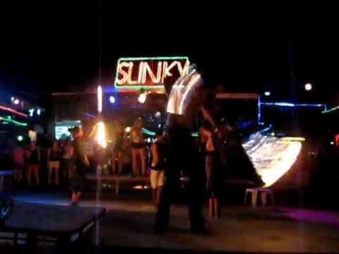 Slinky Beach Bar - Phi Phi Island - YouTube