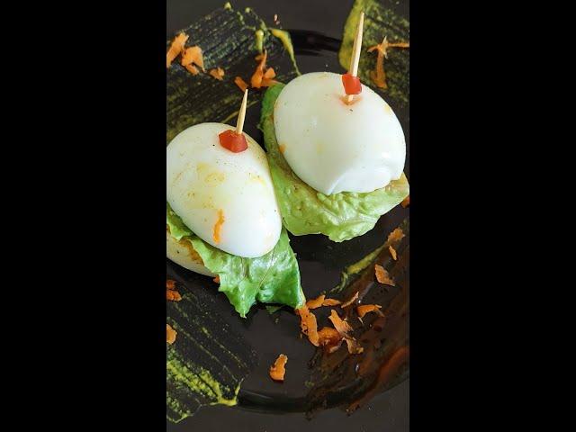 Mini Keto Egg Burger #shorts
