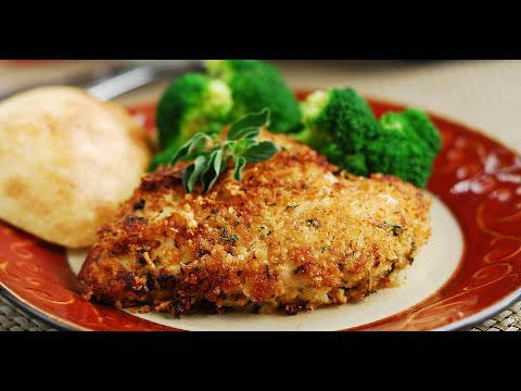 Parmesan Herb Crusted Chicken Cooking Instructions   YouTube
