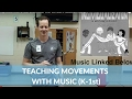 Teaching Locomotor & Non Locomotor with the Call it Macaroni Song