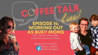 How to work out as a busy mom
