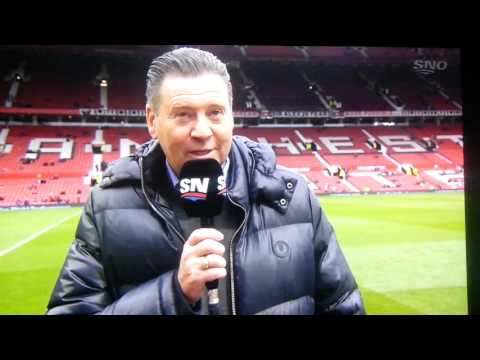 Chris waddle tells funny story to sportsnet soccer